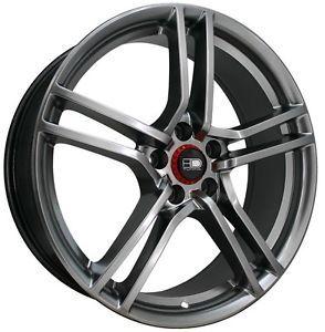"""17"""" HD Vento Wheels Rims Mustang Civic Caliber Fusion Nitro Honda Accord"""