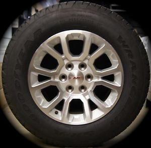 "2014 GMC Sierra Yukon XL 18"" Wheels Rims Tires Chevy Silverado Suburban Tahoe"