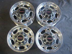 """GMC Sierra 16"""" x 6 5"""" Factory Alloy Wheels GMC 2500HD Rims Duramax Chevy"""