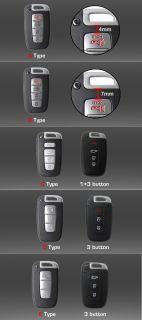Genuine Silicone Smart Key Holder Case for Kia Optima 2011 2012 2013 K5