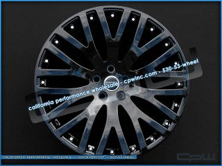 "New Land Rover Range Rover Sport LR3 LR4 22"" Wheels Rims Gloss Black HSE Set 4"