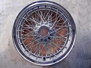 "Borrani RW3872 16x6"" Wire Wheel Maserati 3500GT Newly Restored"