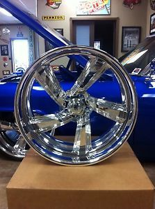 "New 24"" in Billet Raceline Intro Bonspeed FOOSE Chevrolet 22"" inch Rims Wheels"
