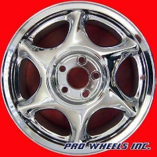 "Oldsmobile Aurora Intrigue 17x7 5"" Chrome Factory Original Wheel Rim 6042 39951"