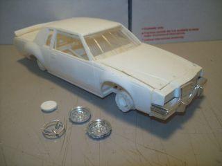 Buick Regal Race Car Built Model Kit Parts