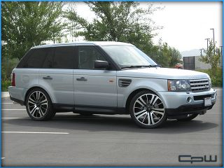 "22"" Wheels Range Land Rover MAR515 Black Machined Face Rims Supercharged Sport"