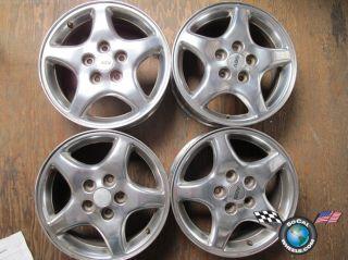 Four 97 02 Pontiac Grand Prix Factory 16 Wheels Rims 6529 Polished 9592402