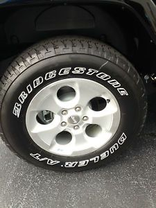 "5 2013 18"" Jeep Wrangler Sahara Wheels Tires Unlimited Sport Rubicon"