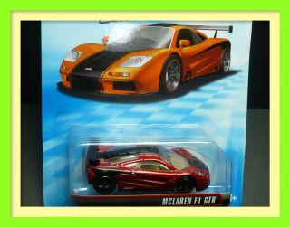 "Hot Wheels McLaren F1 GTR Wheel ""OH5"" Car 1 64 Speed Machines"