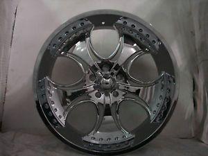"""4 24"""" KMC Wheels Rims Ford F 150 Expedition 5x135 5 Lug KM75524913212"""