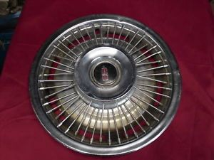 "1968 Oldsmobile Wire Wheel Cover 14"" Single"