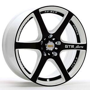 17 inch GTR 704WB Rims and Tires Cadillac Altima Maxima Accord Century Park Ave