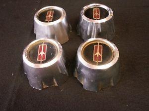 Oldsmobile Olds Rally Wheel Center Caps 442 Hurst Olds Cutlass 88 98 416393