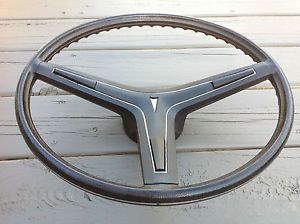 69 70 71 72 Pontiac GTO Judge LeMans Firebird Grand Prix Black Steering Wheel