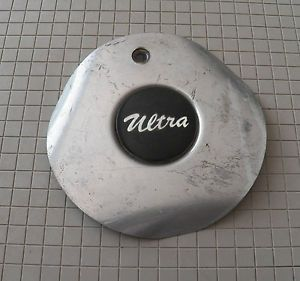 Ultra Silver Aluminum 3 Spoke Wheel Center Cap