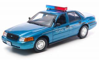 Greenlight 2008 Ford Crown Victoria Twilight Forks WA Police Diecast Car 12864