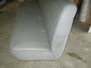 97 07 Ford Econoline Van 4th or 5th Row 4 Passenger Gray Vinyl Bench Seat