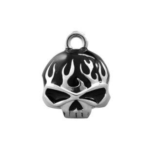 Harley Davidson Black Skull Ride Bell