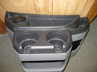 97 10 Ford Econoline Van Gray Center Console Cup Holder
