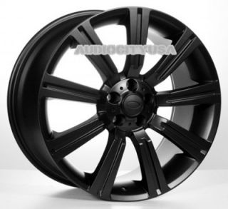 "22"" IN358 BK for Land Range Rover Wheels and Tires Rims HSE Sports Supercharged"