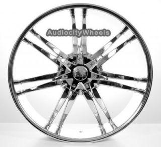 """22"""" inch B14 Chrome Wheels for Land Range Rover FX35 Rims"""