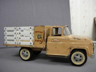 Tonka 1959 Tonka Farms Stake Body Truck Horse Trailer