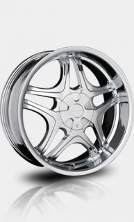 """20"""" Chrome Falken Marquis Wheels with Tires Chevy GMC Ford Lincoln Nissan"""