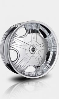 "20"" Chrome Falken Executive Wheels Tires Chevy GMC Toyota"