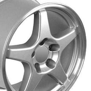 """17"""" Rims Fit Camaro Corvette ZR1 Style Wheels Set"""