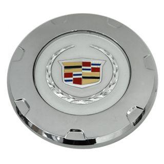 Set of 4 Cadillac Escalade Chrome Wheel Center Caps Color Logo 07 10 9597355