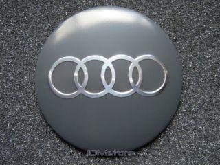 Audi Wheel Center Cap Sticker Badges Emblem 4 Pcs