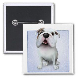 Bulldog (English) Cartoon Pins
