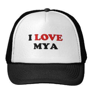 I Love Mya Hats