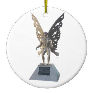 Mothman Statue Point Pleasant West Virginia Ornament
