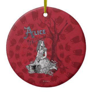 Alice in Wonderland   Tim Burton Christmas Ornaments