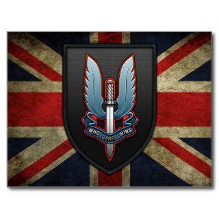 Special Air Service (SAS) Post Card