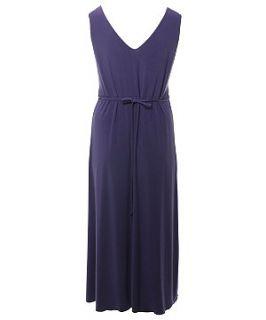 Lovedrobe Purple Beaded Motif Maxi Dress