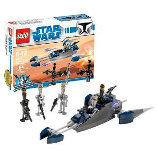 "Lego Year 2009 Star Wars Animated Series ""The Clone Wars"" Battle Pack Set # 8015   Assassin Droids Battle Pack with 3 Assassin Droid and 2 Elite Assassin Droid Minifigures and 2 Flick Fire Missiles (Total Pieces: 94): Toys & Games"