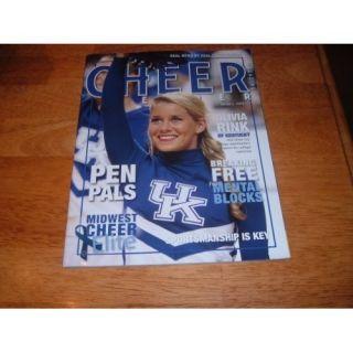 Cheer Leader magazine, 2011, Volume 2, Issue 1 UK Cheerleader Olivia Rink of Kentucky on cover. 2011, Volume 2, Issue 1 UK Cheerleader Olivia Rink of Kentucky on cover. Cheer Leader magazine Books