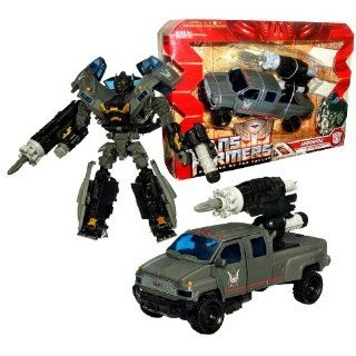 """Hasbro Year 2009 Transformers Movie Series 2 """"Revenge of the Fallen"""" Voyager Class 7 Inch Tall Robot Action Figure   Autobot IRONHIDE with Arm Cannon and Missile Launcher with 1 Missile (Vehicle Mode : Topkick Pick Up Truck): Toys & Games"""