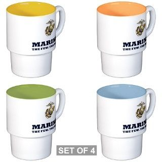 MARINES   Eagle, Globe and Anchor Coffee Cups by TeamWinchester