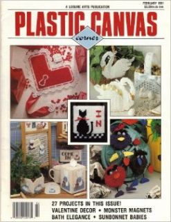 Plastic Canvas Corner (February 1991, Volume 2, Number 2): Anne Van Wagner Young: Books