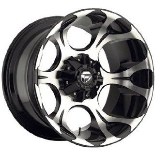 Fuel Dune 20x10 Machined Black Wheel / Rim 6x135 & 6x5.5 with a  24mm Offset and a 106.40 Hub Bore. Partnumber D52420009845: Automotive
