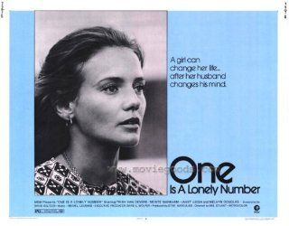 One Is a Lonely Number Movie Poster (11 x 14 Inches   28cm x 36cm) (1972) Style A  (Trish Van Devere)(Monte Markham)(Janet Leigh)(Melvyn Douglas)(Jane Elliot)   Prints