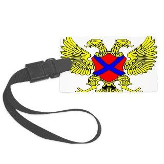Double Headed Eagle Coat Of Arms Luggage Tag by Admin_CP70839509