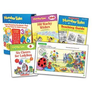 Make numbers concrete and boost must know counting skills.   SCHOLASTIC INC. * Number Tales, 16 books/16 pages and Teaching Guide Electronics