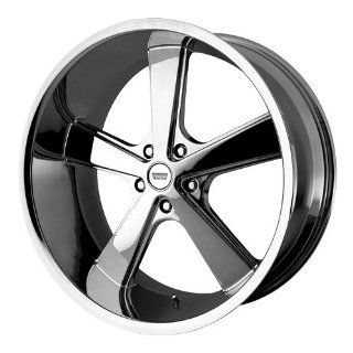 22x9 American Racing NOVA (Chrome) Wheels/Rims 5x115 (VN70122915215): Automotive