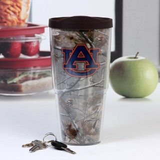 Tervis Tumbler Auburn Tigers Realtree Camo Wrap 24oz with Travel Lid: Kitchen & Dining