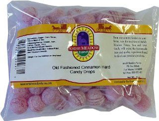 Old Fashioned Hot Cinnamon Hard Candy Drops, Bulk, 16 oz: Grocery & Gourmet Food
