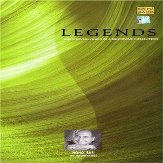 Legends Maestro Melodies In A Milestone Collection   Mohd. Rafi The Incomparable (Indian Music / Bollywood Movie Soundtrack / Hindi Film Songs) Music